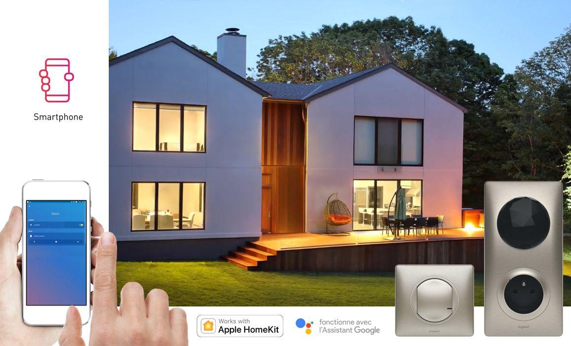 installer le pack de d marrage pour un logement connect c liane with netatmo espace grand. Black Bedroom Furniture Sets. Home Design Ideas