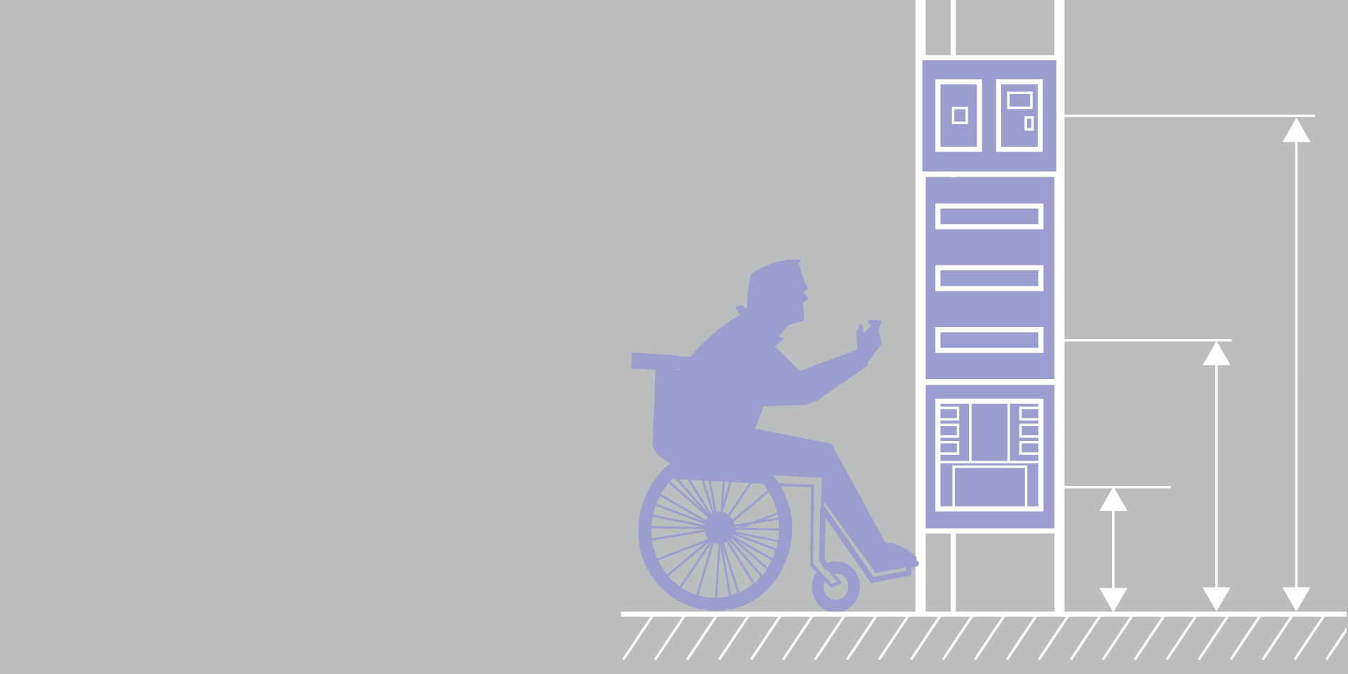 normes des habitations concern es par l accessibilit des handicap s espace pro legrand. Black Bedroom Furniture Sets. Home Design Ideas