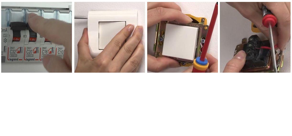 Comment doit-on s'y prendre pour démonter un interrupteur ...