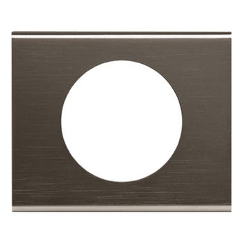 Plaque Céliane Black Nickel
