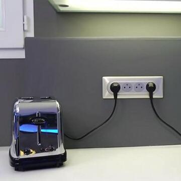 Multiplier Les Prises Electriques Du Plan De Travail Pour Mes Appareils Electromenagers Espace Grand Public Legrand