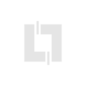 600801 Plaque carrée dooxie 1 poste finition blanc