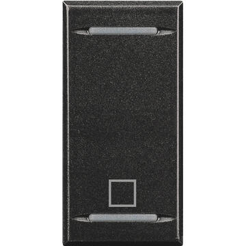 Manette MyHOME BUS Axolute symbole STOP 1 module - anthracite