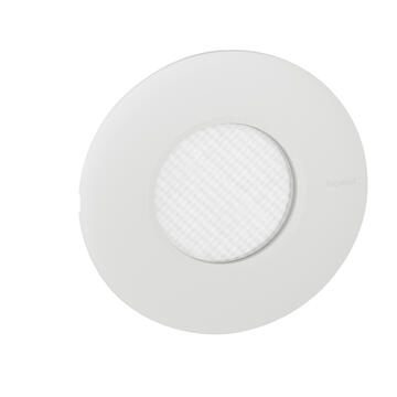Spot à LED dimmable IP44 à enficher sur boite Modul'up 3000K ou 4000K 500lm (lumens) 120°