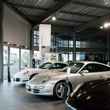 Solutions projets Industrie Concession Porsche