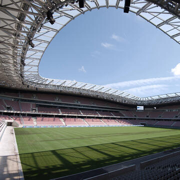 Solutions projets Commerce et sport Stade Allianz Riviera
