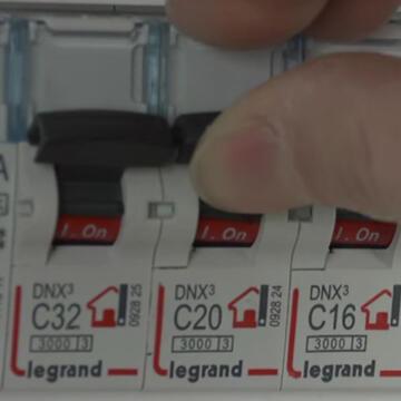 Interrupteur Coupure Courant 350x350 Remise Courant Tableau Electrique  350x350