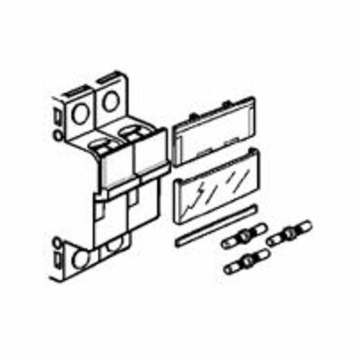 Ensemble de solidarisation pour 2 coupe-circuit sectionneurs unipolaires