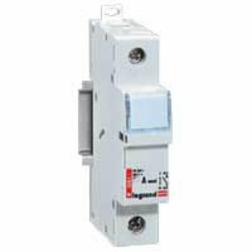 Coupe-circuit sectionneur unipolaire pour cartouche cylindrique industrielle typeaM ou gG 8x32mm - 400V~