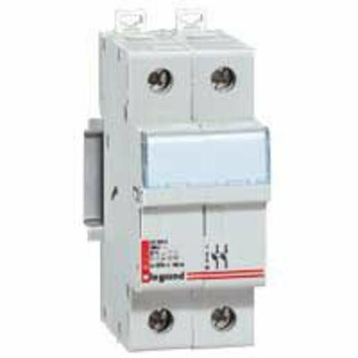 Coupe-circuit sectionneur bipolaire pour cartouche cylindrique industrielle typeaM ou gG 8x32mm - 400V~