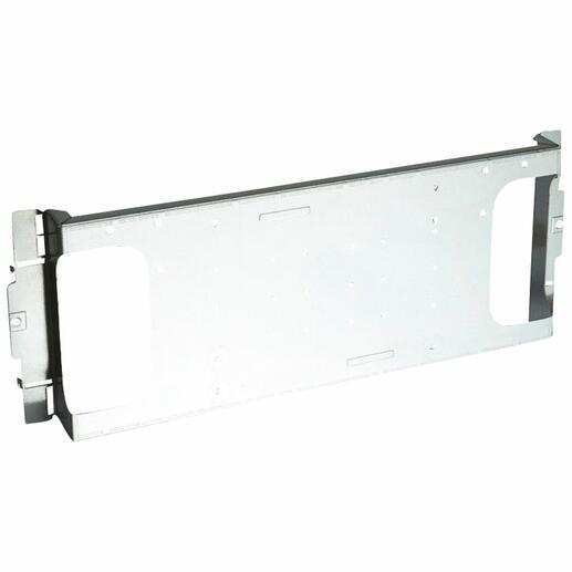Platine pour 1 DPX³250 fixe ou 1 DPX³160 électronique fixe en montage horizontal dans XL³400