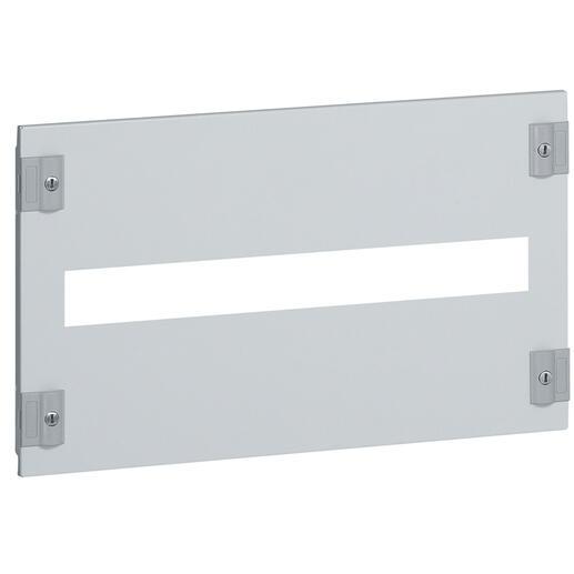 Plastron métal pour branchement tarif jaune pour association verticale DPX-IS250 et DPX³250 pour XL³400 - hauteur 300mm