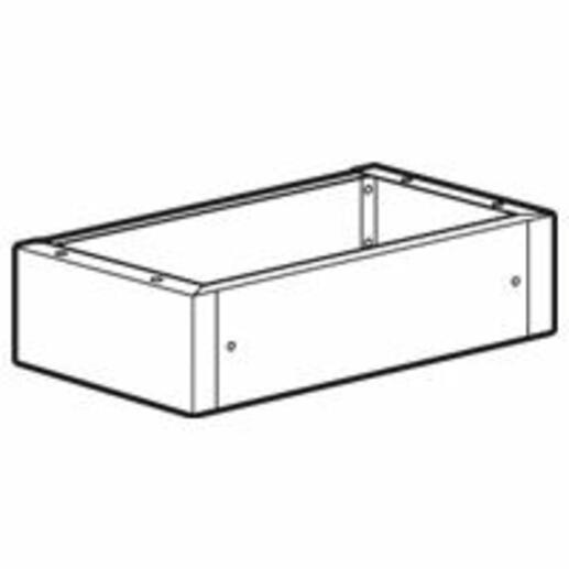Socle pour armoires XL³800 IP55 largeur 950mm