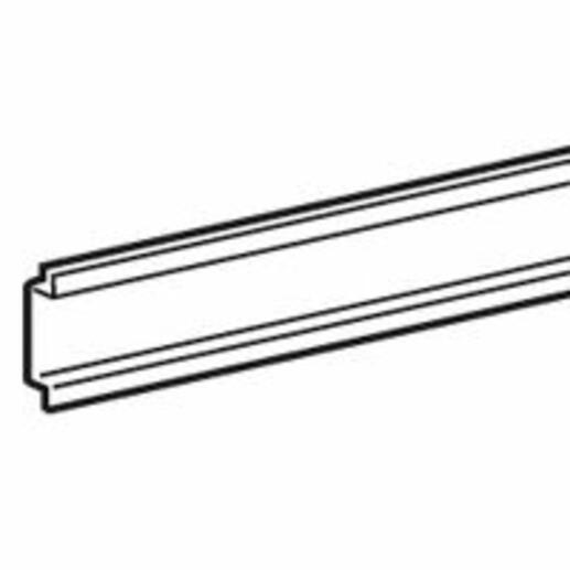 Rail universel pour XL³4000 et XL³800 - largeur 600mm 24 modules - à fixer sur montant fonctionnel