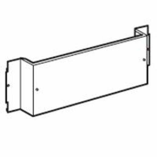 Platine pour 1 DPX³630 fixe en position horizontale dans XL³4000 et XL³800 - 24 modules