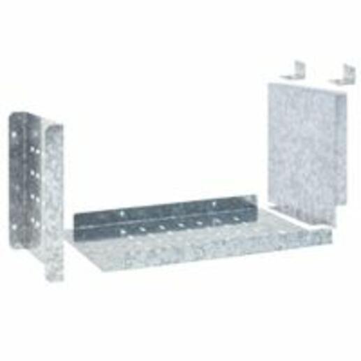 Kit séparation en U pour jeu de barres horizontal 4000A pour gaine à câbles externe profondeur 725mm pour formes XL³