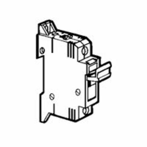 Coupe-circuit sectionnable SP38 pour cartouche industrielle 10x38mm - neutre équipé