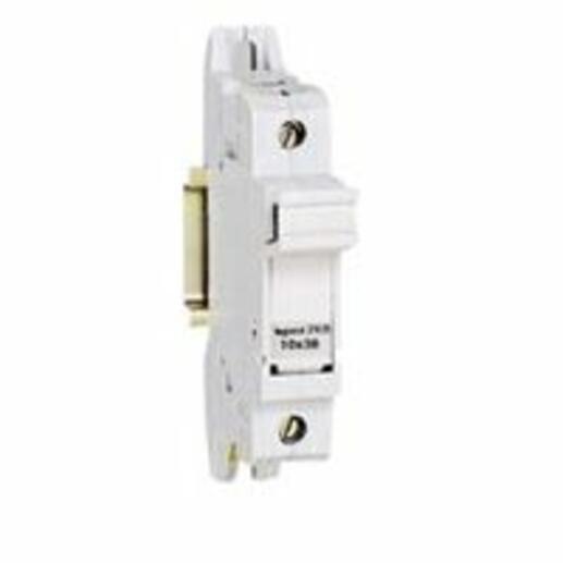 Coupe-circuit sectionnable SP38 pour cartouche industrielle 10x38mm - 1P