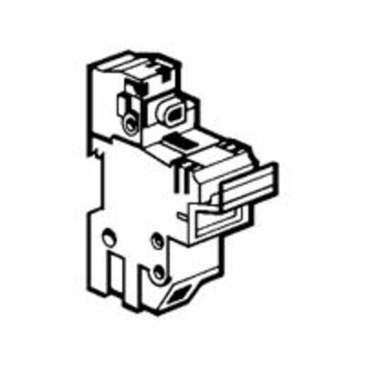 Coupe-circuit sectionnable SP58 pour cartouche industrielle 22x58mm - neutre équipé
