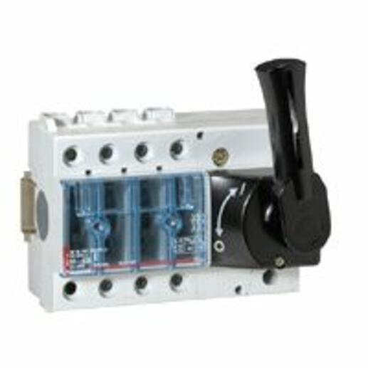 Interrupteur-sectionneur Vistop 63A - 3P avec commande frontale et poignée noire