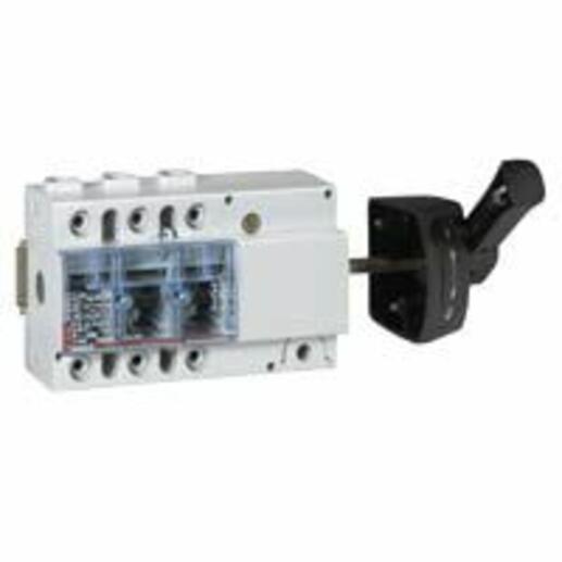 Interrupteur-sectionneur Vistop 100A - 3P avec commande latérale et poignée noire