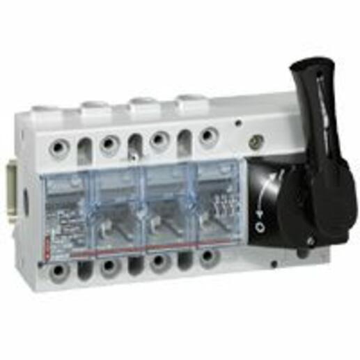 Interrupteur-sectionneur Vistop 160A - 4P avec commande frontale et poignée noire