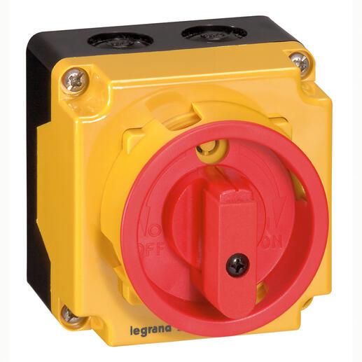 Coffret de proximité 12A IK08 3P pour coupure ou sectionnement d'un moteur 1 vitesse