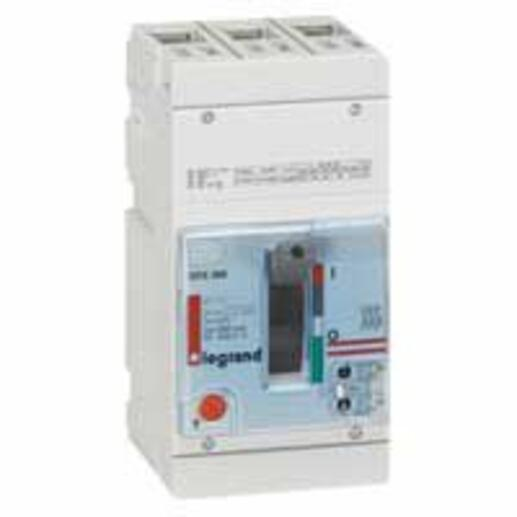 Disjoncteur magnétothermique DPX250 pouvoir de coupure 36kA 400V~ - 3P - 100A