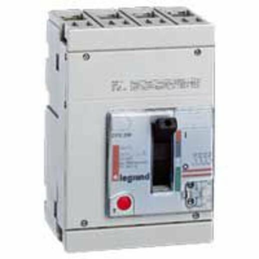 Disjoncteur magnétothermique DPX250 pouvoir de coupure 36kA 400V~ - 4P - 160A