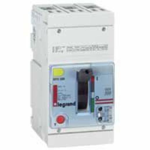 Disjoncteur magnétothermique DPX250 pouvoir de coupure 70kA 400V~ - 3P - 100A
