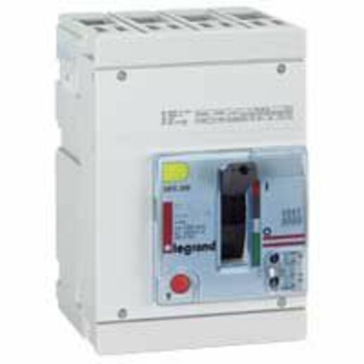 Disjoncteur magnétothermique DPX250 pouvoir de coupure 70kA 400V~ - 4P - 100A