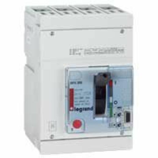 Disjoncteur électronique DPX250 pouvoir de coupure 36kA 400V~ - 4P - 250A