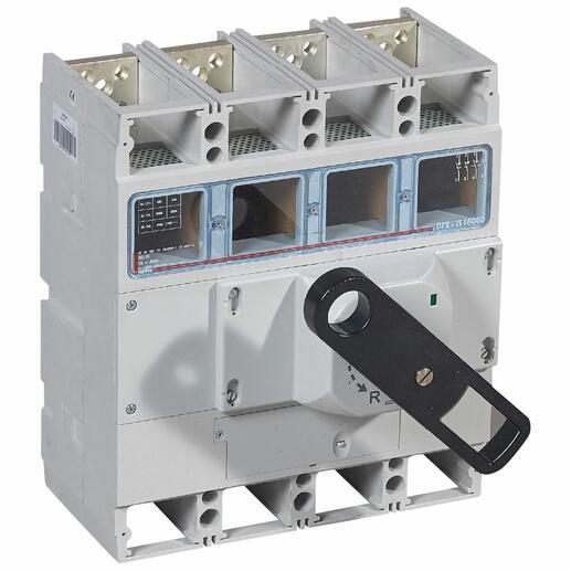Interrupteur-sectionneur DPX-IS1600 à déclenchement avec commande frontale - 4P - 800A