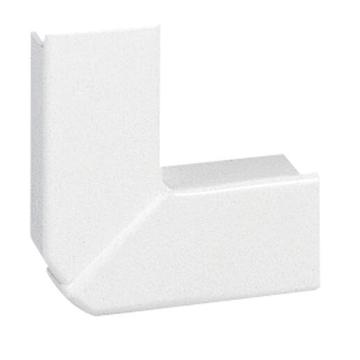 Angle plat variable pour moulure DLPlus 20x12,5mm - blanc