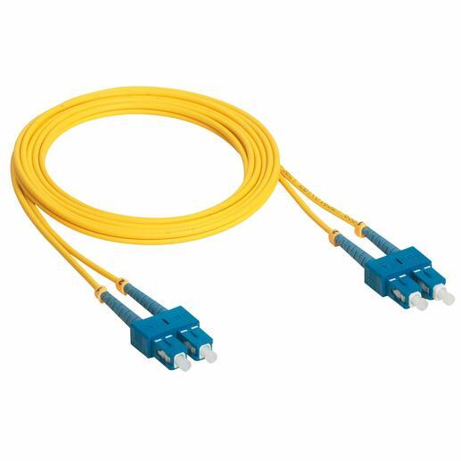 Cordon optique OS1/OS2 ( UPC ) monomode LCS³ duplex SC/SC - longueur 1m