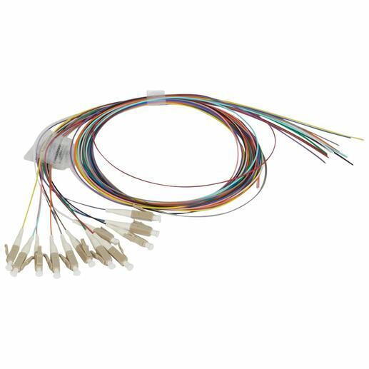 Kit de 12 pigtails OM4 LCS² - connecteur LC 50/125µm