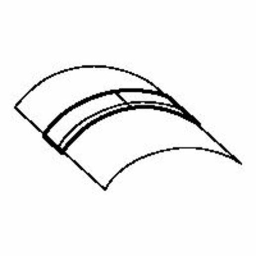 Joint de couvercle pour passage de plancher 92x20mm