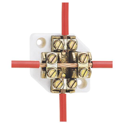 Plot de dérivation pour câble cuivre section 25mm² et intensité nominale 101A