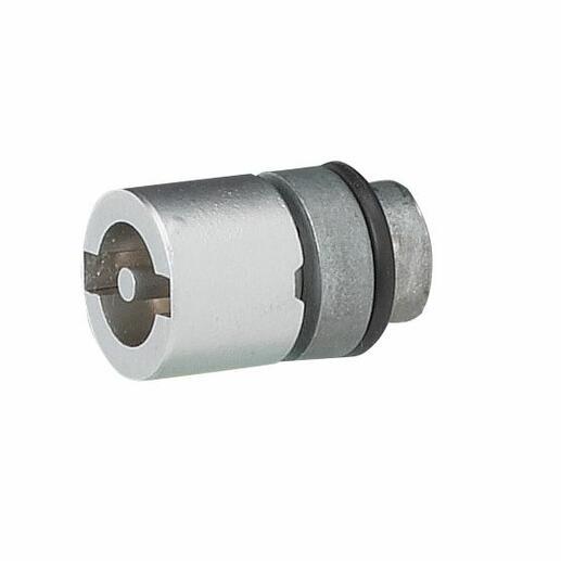 Empreinte métal pour armoire Altis - double barre