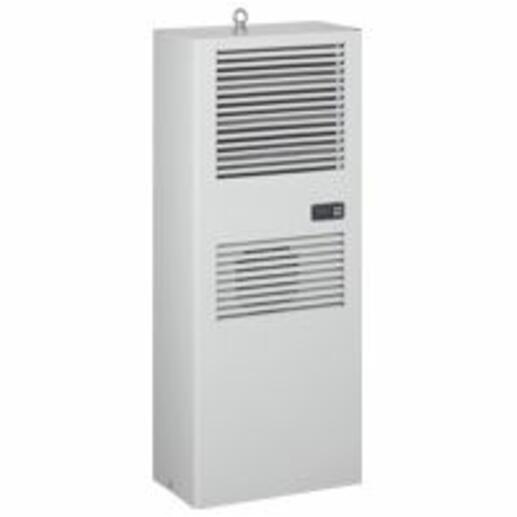 Climatiseur pour installation verticale sur panneau ou porte d'armoire 400V 3 phases - 3850W à 2870W