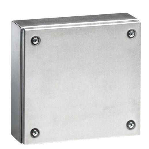 Boîtier industriel Atlantic inox carré IP66 IK10 - 150x150x120mm