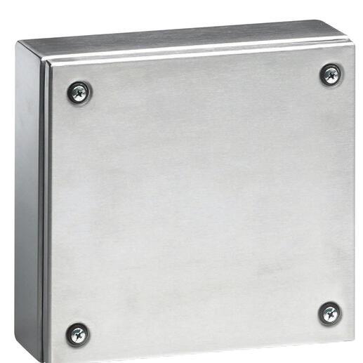 Boîtier industriel Atlantic inox carré IP66 IK10 - 200x200x80mm