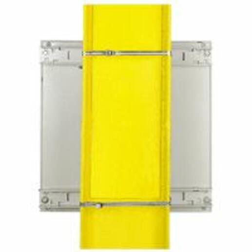 Kit de fixation horizontale ou verticale sur poteau pour coffret Atlantic , Atlantic Inox et Marina largeur 500mm