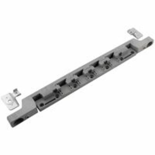 Support isolant 1 barre par pôle pour barres plates jusqu'à 400A dans coffrets et armoires XL³400
