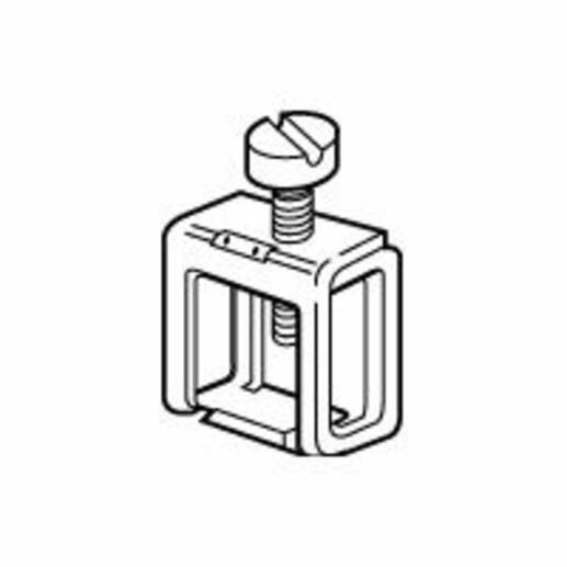 Connecteur 6mm² à 16mm² pour barre 12x4mm non percée réference 037349