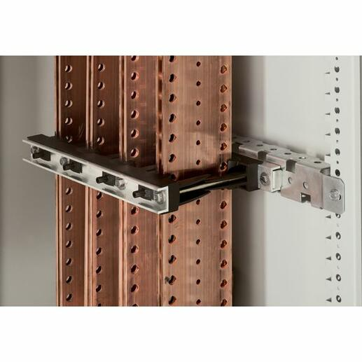 Support isolant pour armoire Altis - 1 ou 2 barres cuivre 50x5mm, 63x5mm, 75x5mm, 80x5mm, 100x5mm par pôle jusqu'à 1600A