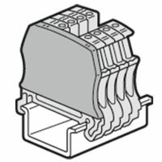 Cloison terminale pour blocs de jonction à vis Viking3 avec 2 entrées 2 sorties