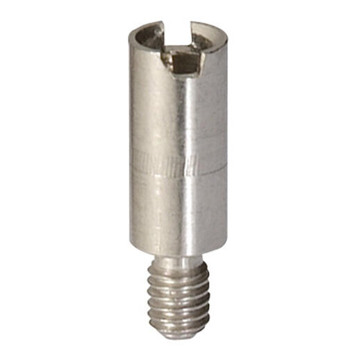 Alvéole de mesure pour fiche Ø2mm pour bloc de jonction à vis Viking3 pas 10mm