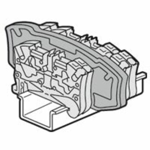 Cloison de séparation pour blocs de jonction à ressort Viking3 avec pas 5 ou 6mm