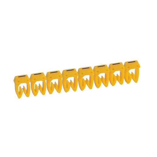 Repère CAB 3 pour filerie 1,5mm² à 2,5mm² avec lettre majuscule I